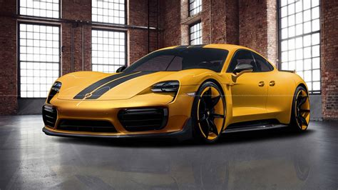 Porsche Of by Porsche Taycan Rendered Into View