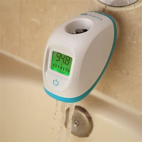 bathtub water warmer digital bathtub thermometer retrofits any faucet with no