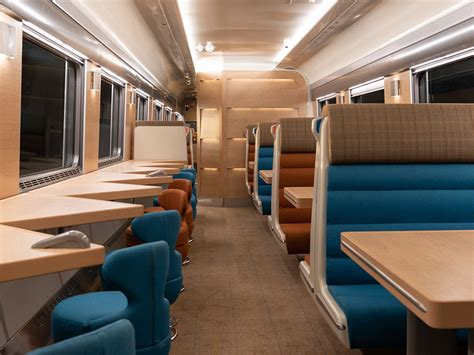 The Sleeper by Caledonian Sleeper Launches New Caf Coaches Railway Gazette