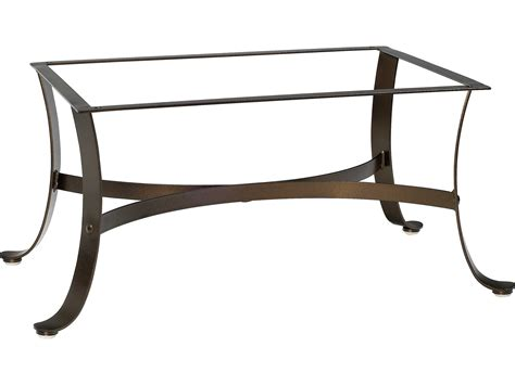Iron Table Base by Woodard Cascade Wrought Iron Coffee Table Base 2w4400