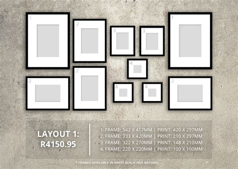 wall frame design layout 4 gallery wall layouts to personalise your space the
