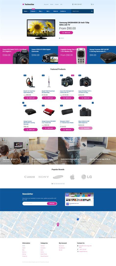 shopify themes electronics electronic devices shopify theme