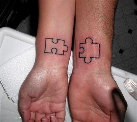 puzzle outline friendship tattoo designs tattooshunt com