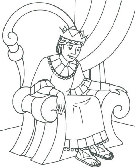 bible king coloring page bible david as king coloring pages bible class ideas