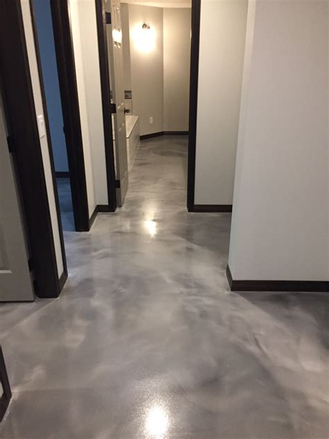 Floor Call by Heated Concrete Reflector Floor Architectural Concrete