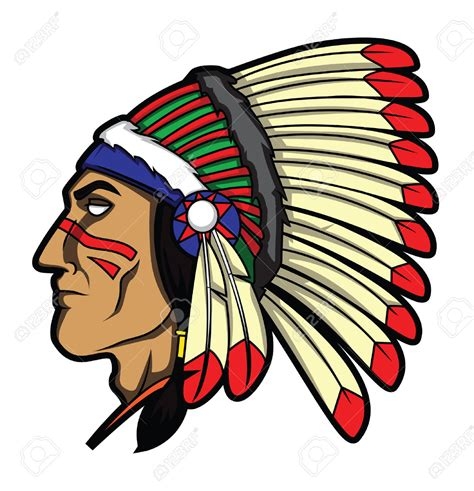 indian clipart headdress clipart indian pencil and in color