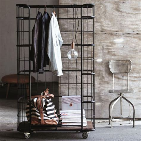 Cool Clothing Racks by Cool Industrial Clothes Rack House Junkie