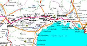 via tolosana chemin d arles cartographie