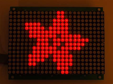 Led Matrix 16x24 led matrix panel chainable ht1632c driver id 555 24 95 adafruit industries