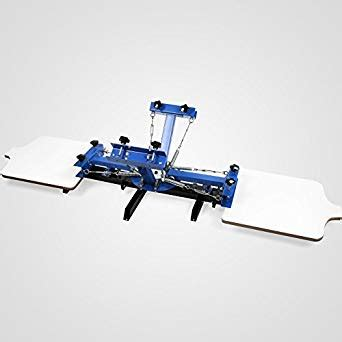 4 color screen printing press screen printing press 4 color 2 station