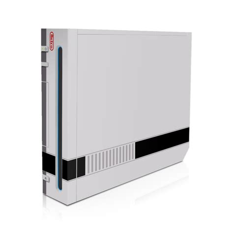Skin For Your Wii by Wii Console Skin Retro Nes Style 8 Bit Decal