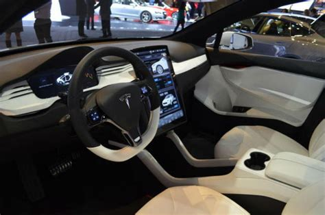 pre production tesla model x features updated interior