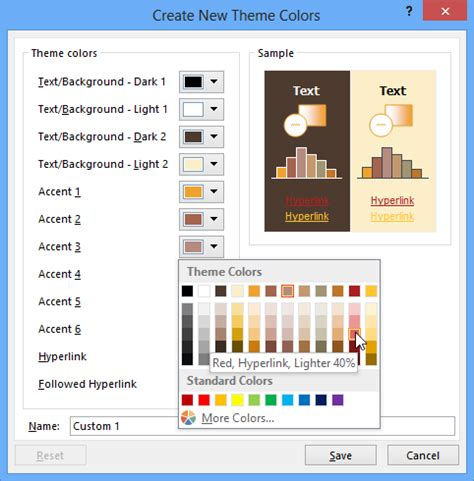 customize themes in ppt powerpoint 2013 modifying themes page 1