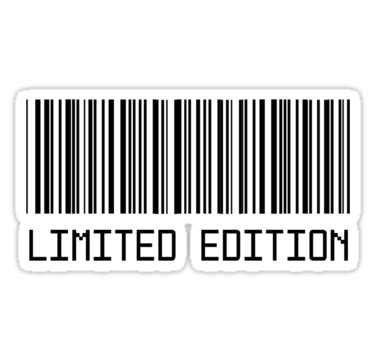 pin magazine barcode and price on pinterest limited edition barcode t shirt stickers pinterest
