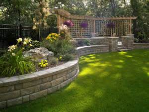 Retaining Wall Ideas For Backyard Highland 6 Quot Retaining Wall