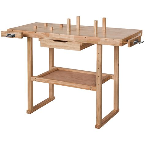 wooden work benches uk wooden workbench bench crafts table carpentry wood