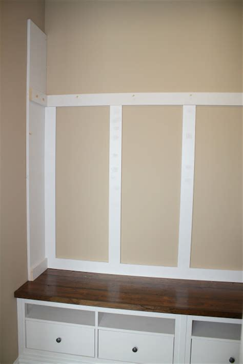 a charming nest mudroom bench ikea hack there s a charming nest mudroom storage reveal