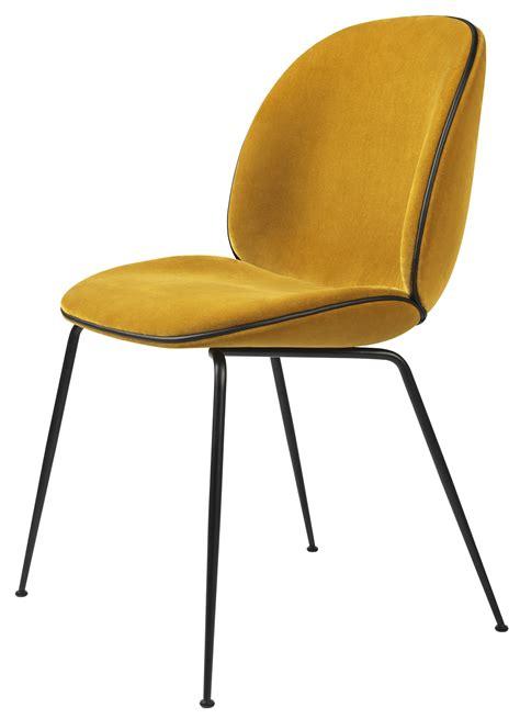 vintage esszimmertisch gubi beetle chair metal legs fully upholstered shell
