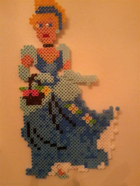 cinderella hama 1000 images about bead designs on