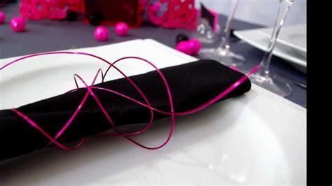 theme rose et noir id 233 e de d 233 coration de table quot gris et fuchsia quot par