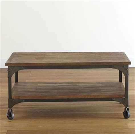 aiden coffee table modern coffee tables by cost plus