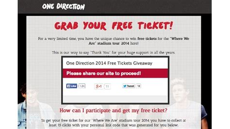 One Direction Giveaway Tickets - one direction tickets one direction concert tickets autos post