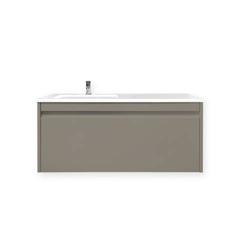 forme 1200mm wall hung vanity quay with iron ore