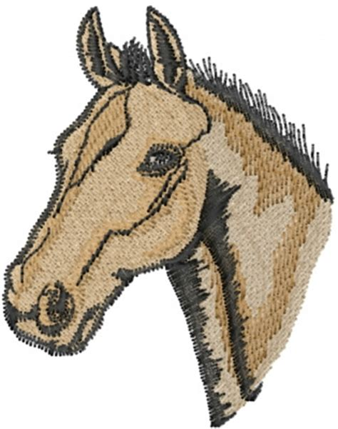 embroidery design horse head animals embroidery design horse head from machine