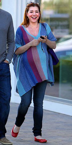 Style Alyson Hannigan by Alyson Hannigan S Haute To Hip Pregnancy Style