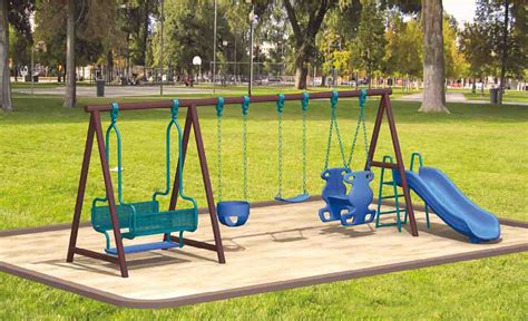 Backyard Swing And Slide Sets Outdoor Furniture Design