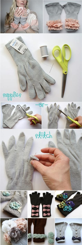 diy keysocks chic fingerless gloves diy alldaychic