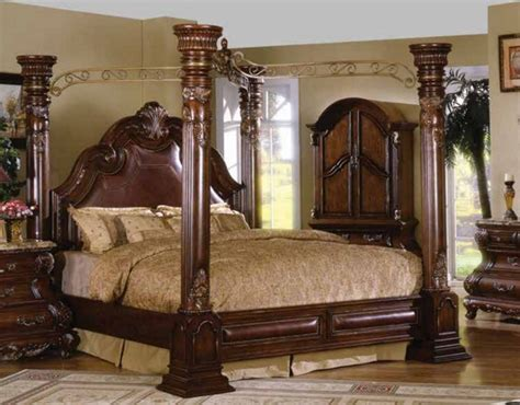 King Size Four Poster Bed by California King Canopy Beds Cherry Four Poster King Size Bed