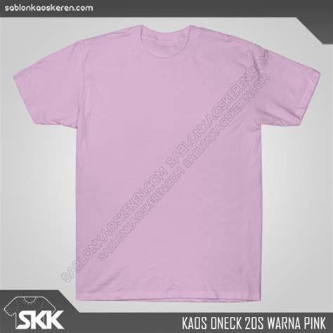 Kaos Pink Muda Polos kaos polos warna pink archives sablon kaos keren