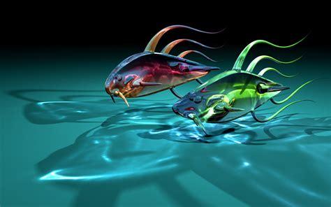 imagenes en movimiento en 3d fondo de pantalla 3d peces hd