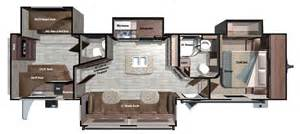 Rv Floor Plans Fifth Wheels Inc Also 2 Bedroom 5th Wheel Floor