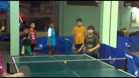Meja Tenis Meja Medan latihan tenis meja di ptm sahabat medan