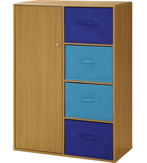 Childrens Storage Cupboards - storage cabinet with baskets in storage cubes