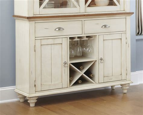 ocean isle bisque and natural pine file cabinet ocean isle buffet in bisque with natural pine finish by