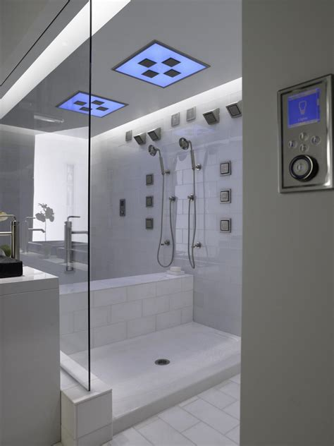 designer showers bathrooms universal design showers safety and luxury hgtv