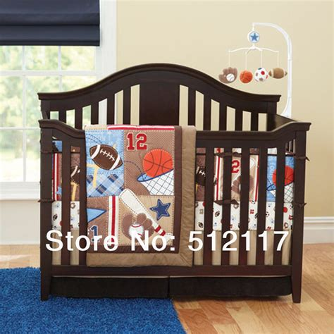 Baseball Baby Bedding Crib Sets Popular Sports Quilt Patterns Buy Cheap Sports Quilt Patterns Lots From China Sports Quilt