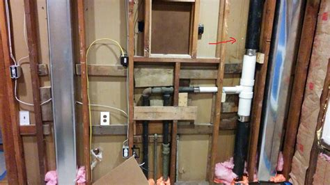 how to run plumbing plumbing rough in pex line home improvement stack exchange