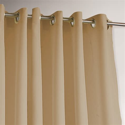 drapes grommet top khaki gazebo grommet top outdoor curtain world market
