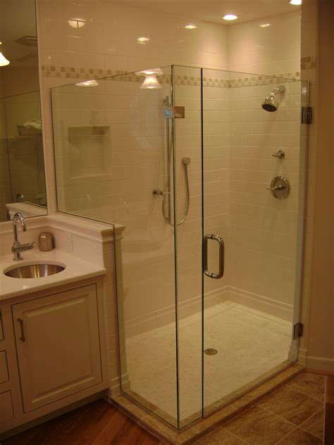 Showers Glass Doors Custom Frameless Framed In Glass Shower Doors Philadelphia