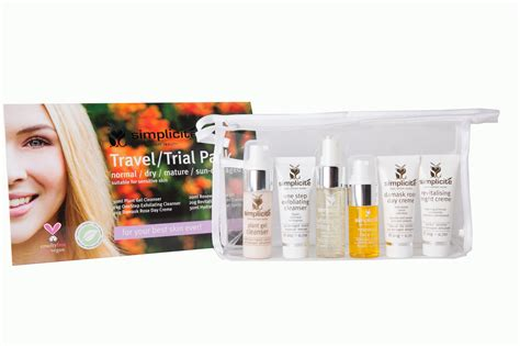 Spl Normal New Pack Spl Skincare Normal basic six travel trial pack normal simplicite skin care
