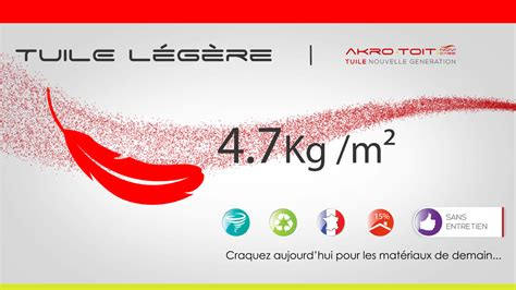 Tuile Legere by Akro Toit Toiture L 233 G 232 Re