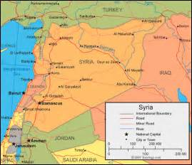 Maps Of Syria by Syria Map And Satellite Image