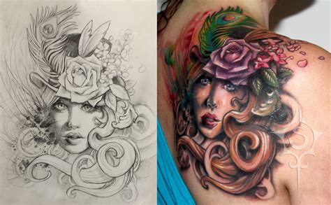 victorian rose tattoo adventorous collection of cover up tattoos
