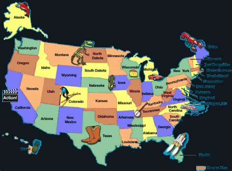 us map for kid map united states holidaymapq