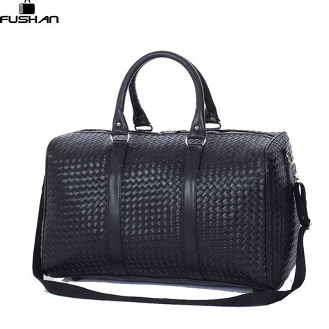 Bangkit Black Travel Bag aliexpress buy fashion pu leather travel bag versatile travel bag waterproof