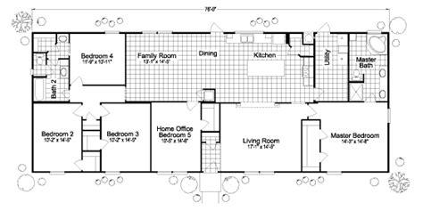 5 bedroom mobile home floor plans 5 bedroom mobile homes plans trend home design and decor
